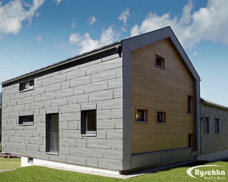 exklusiv fassaden ryschka dach blech gmbh in. Black Bedroom Furniture Sets. Home Design Ideas