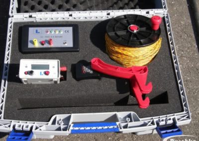 Das professionelle Equipment zur Suche von Leckagen am Flachdach