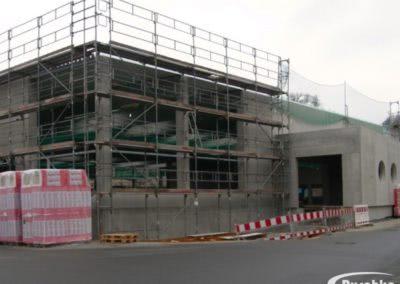 Neubau Industriehalle mit Anbau